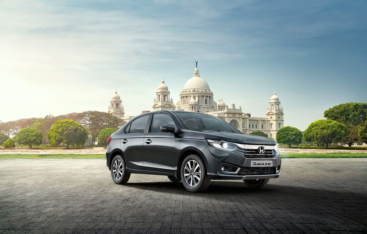 Honda Amaze facelift launched, prices start at Rs 6.32 lakh