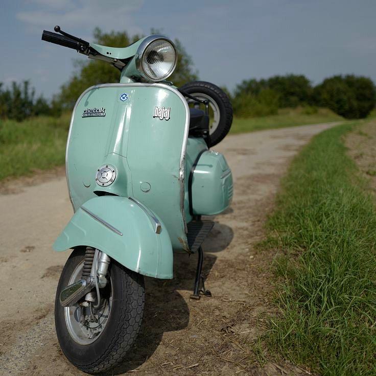 The most durable, Bajaj Chetak Scooter