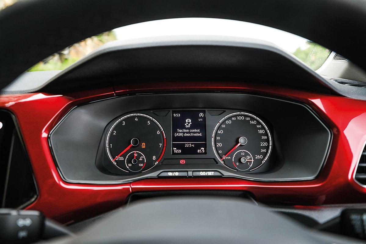 The VW Taigun GT sticks with the analogue dial