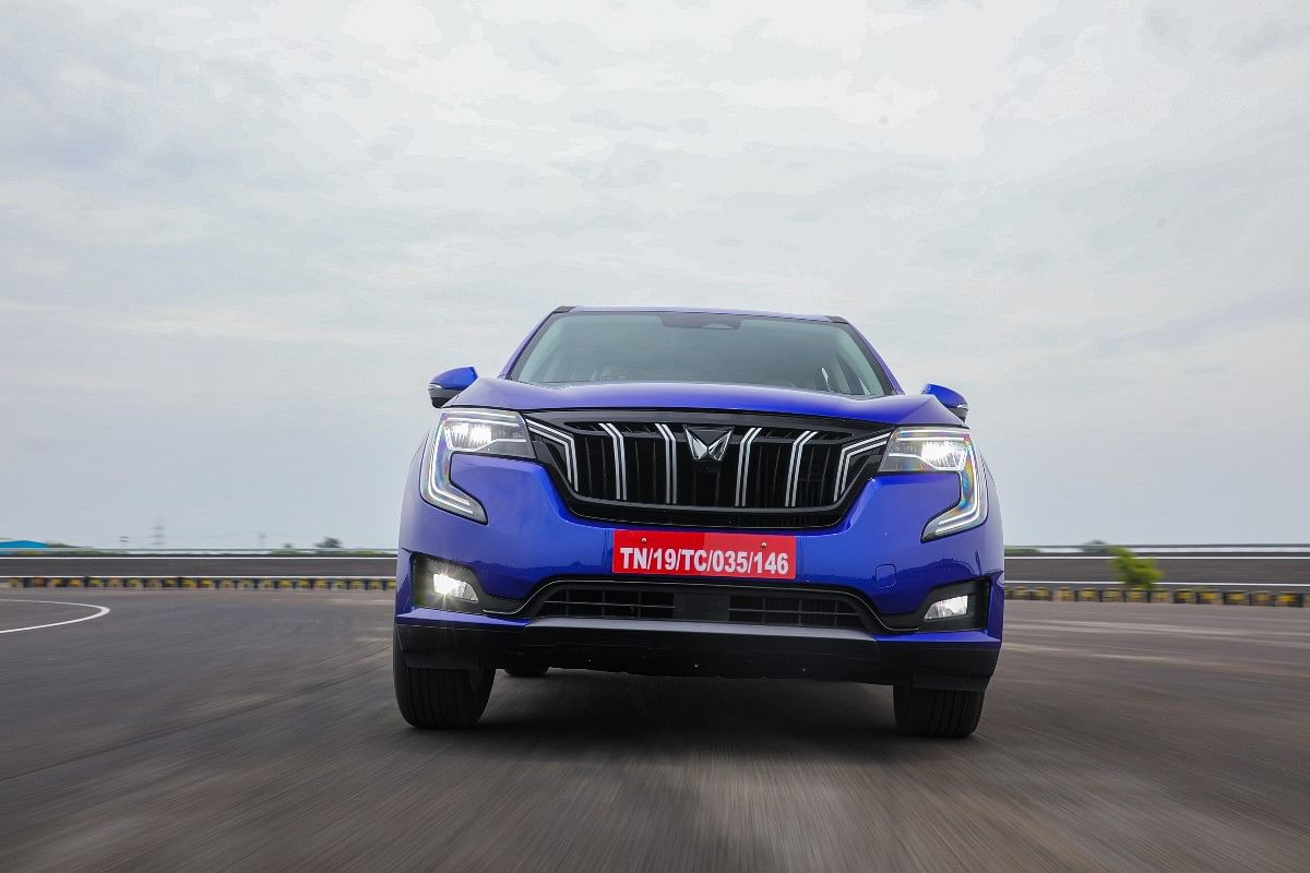 Safety kit on the XUV700 includes a driver fatigue alert, adaptive cruise control and a collision alert with emergency braking