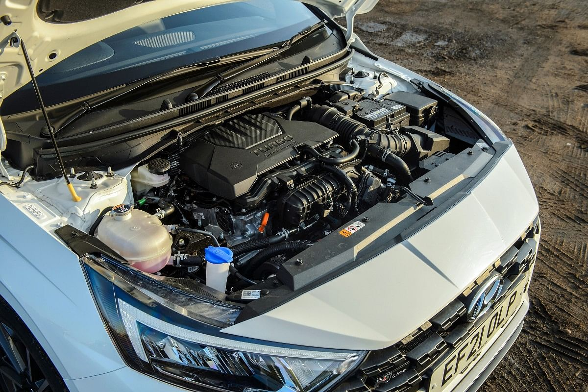 1-litre turbo-petrol has been carried over from the regular i20