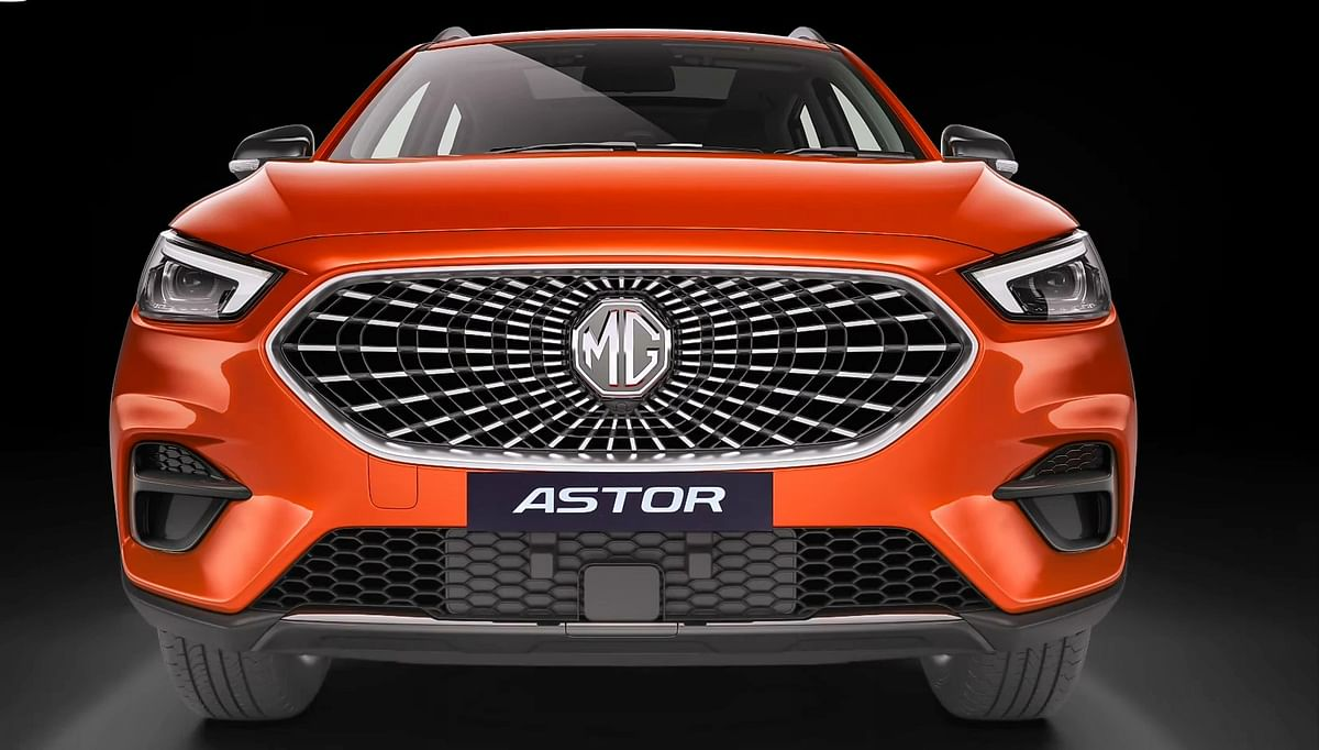 MG Astor with Drive AI technology unveiled