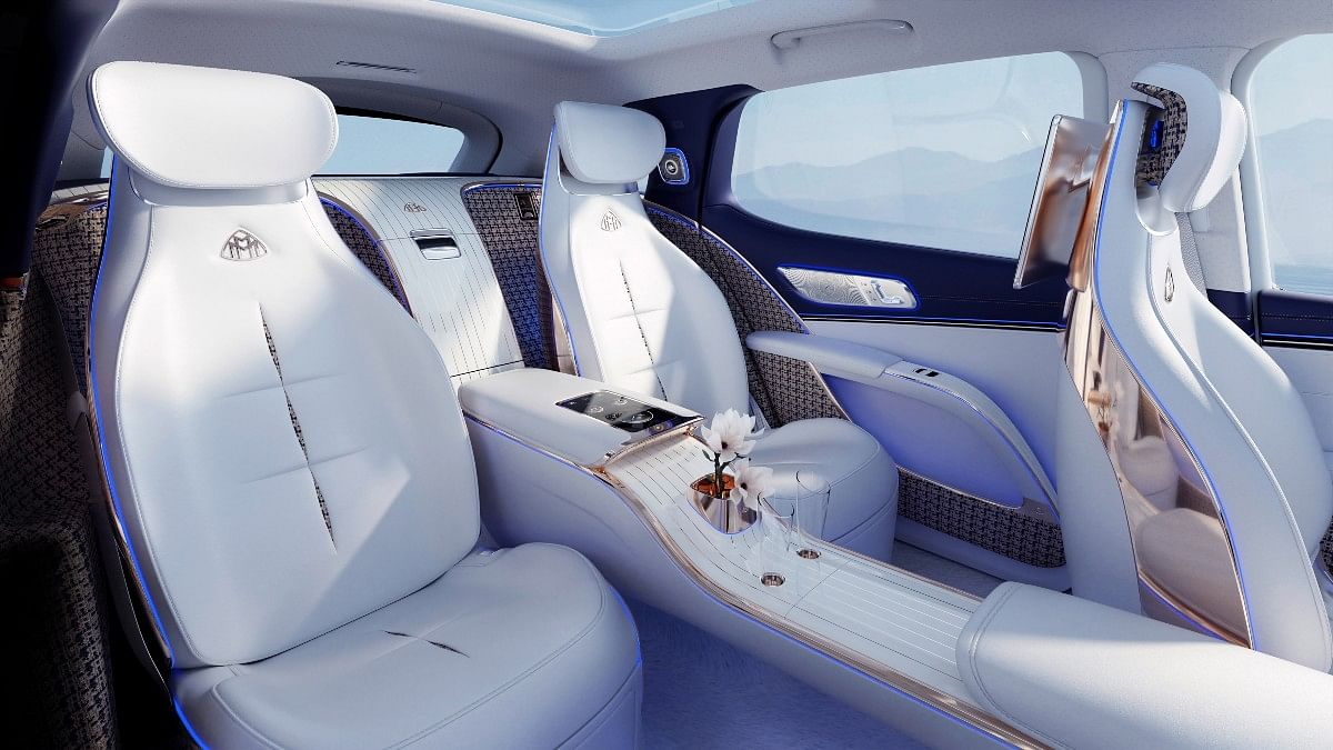 This is where you should be if you're in a Maybach!