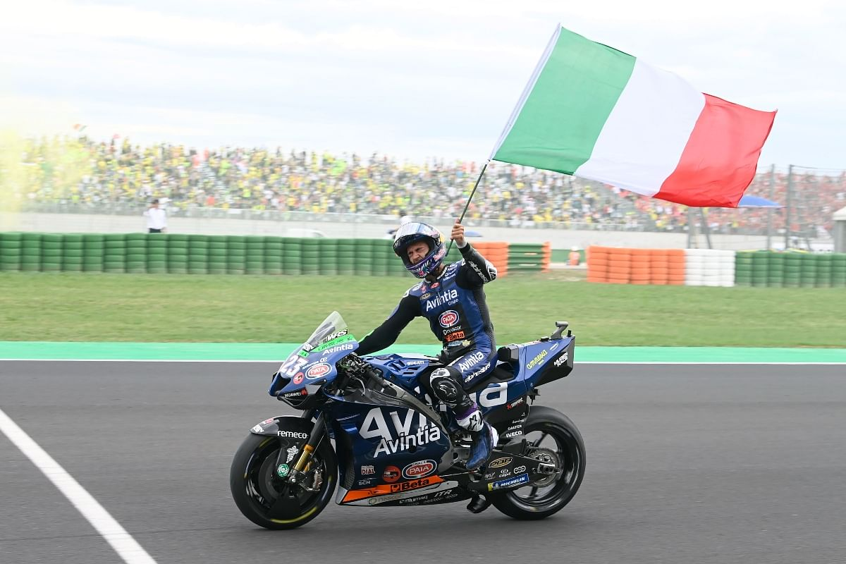 The biggest talking point was that Bastianini rode the old Ducati that had turning problems and was sluggish in fast direction changes.