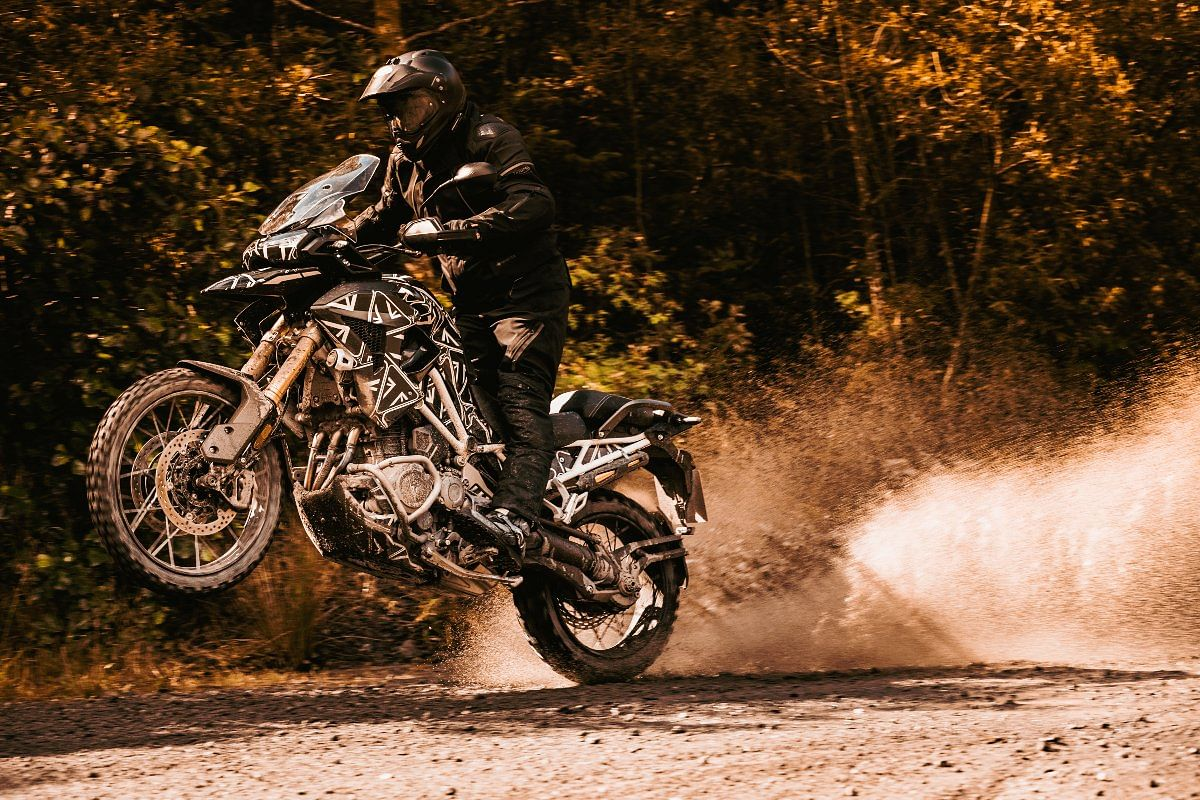 The 2022 Triumph Tiger 1200 continues to be shaft driven