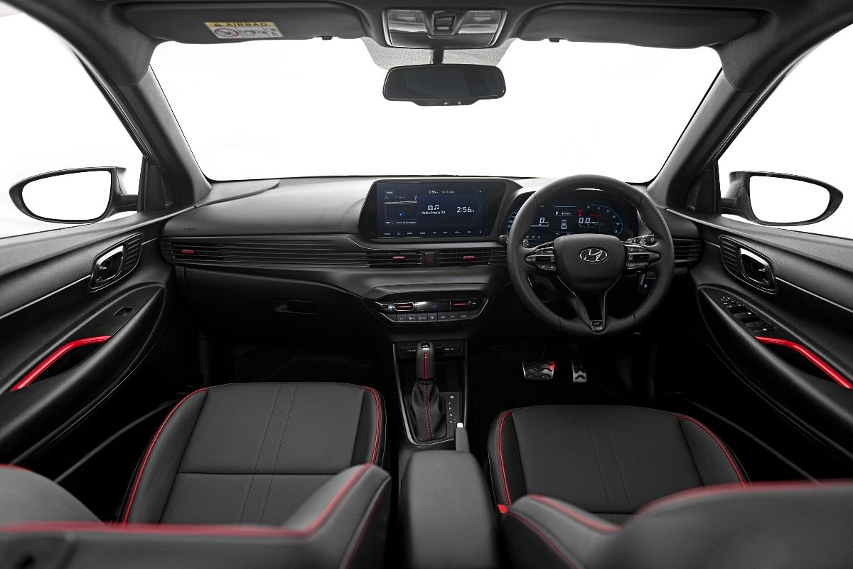 We cannot wait to see how this interior looks with red ambient lighting!