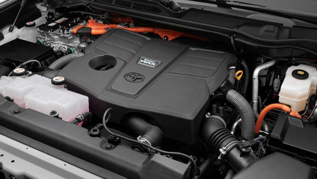 The 3.5-litre V6 hybrid engine produces 437bhp and 790Nm of torque