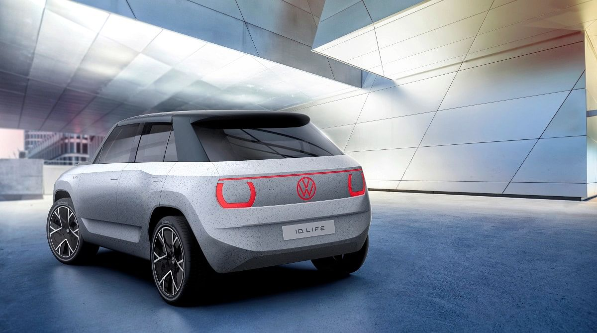 The translucent backlit panels work as the tail lamps and headlamps