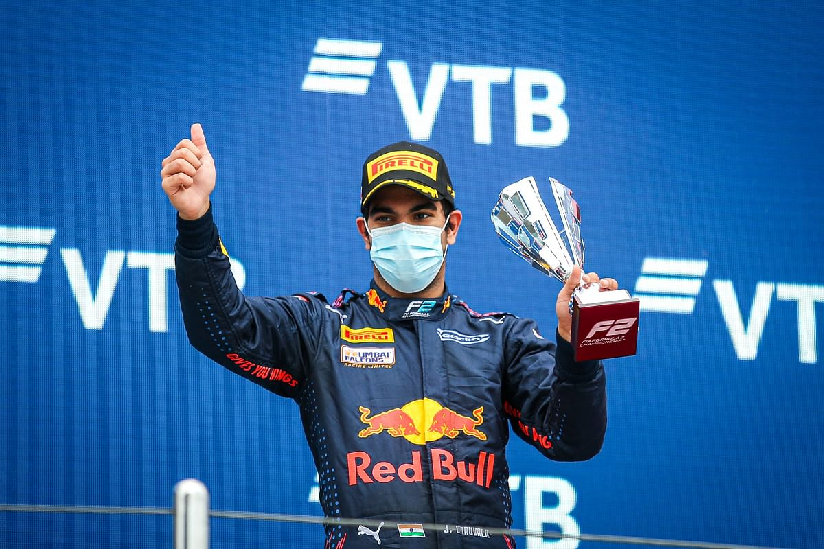 Jehan Daruvala finishes third in Formula 2 Feature Race at Sochi