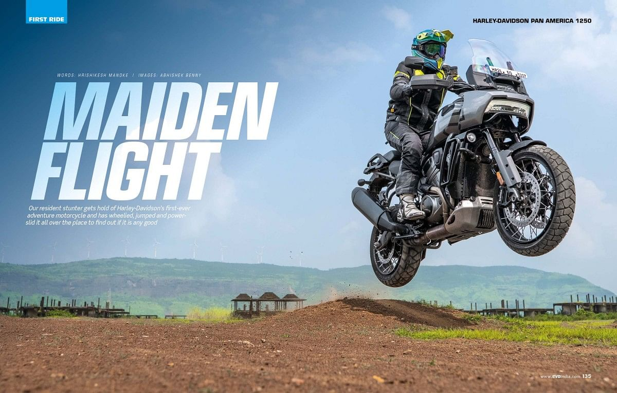 Harley Davidson's first ADV is unlike any Harley ever before!