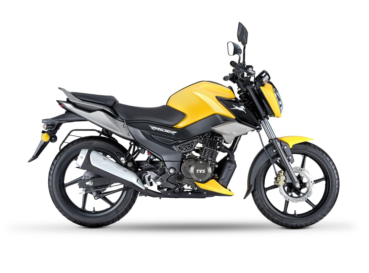 TVS Raider launched at a starting price of Rs 77,500