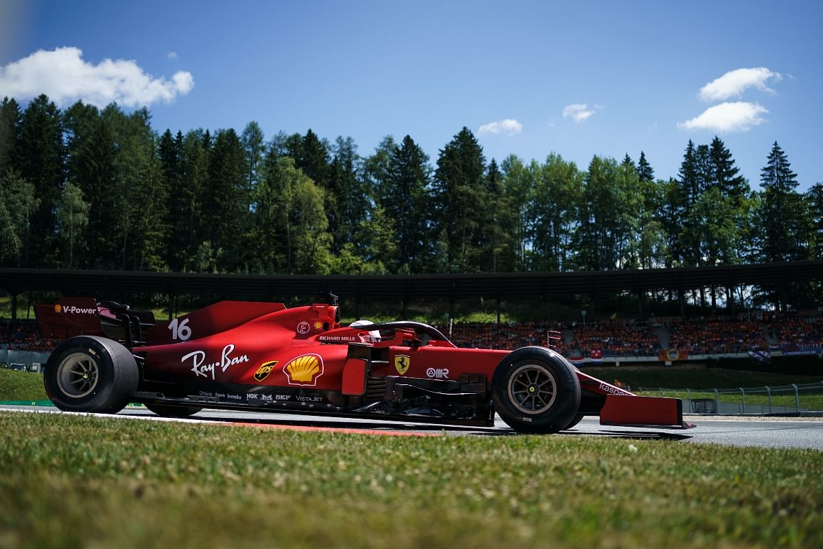 The engine is supposed to give the SF21 a boost of somewhere around 10bhp which may not seem a lot, but every bit of improvement is important in the F1 world.