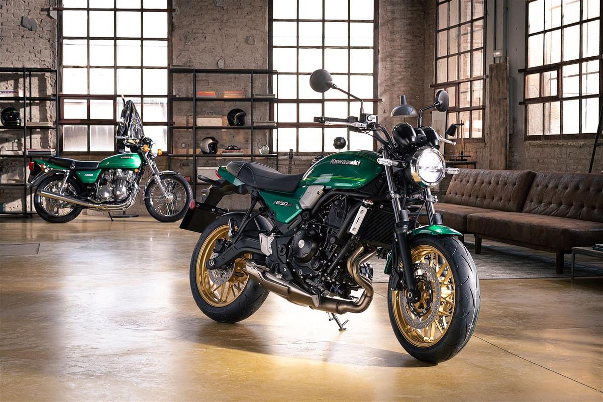 2022 Kawasaki Z650RS unveiled