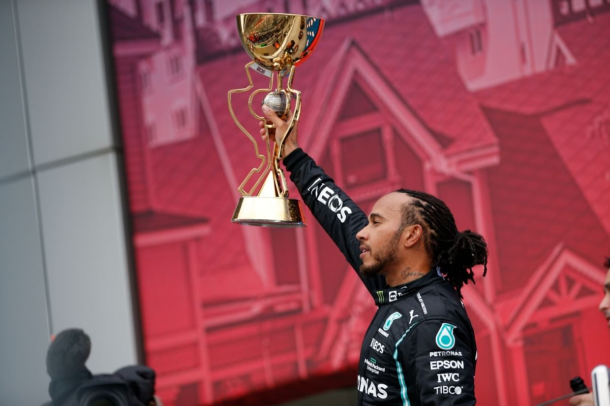 His driving and the attitude he carries with himself, truly makes him one of the G.O.A.T's of Formula 1.