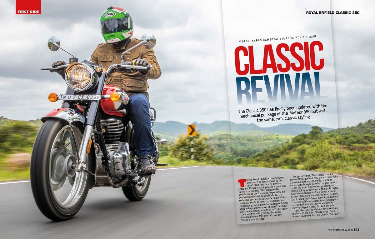 The Classic 350 has received new internals that make it thoroughly modern