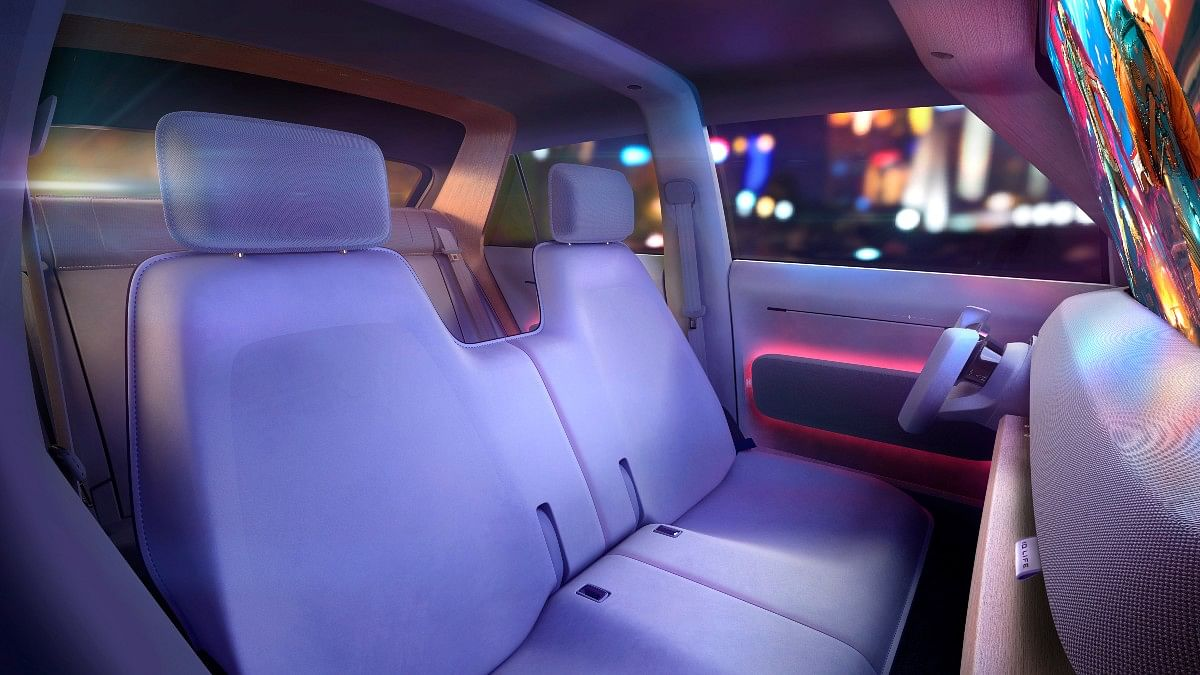 Ambient lighting makes the interiors livelier