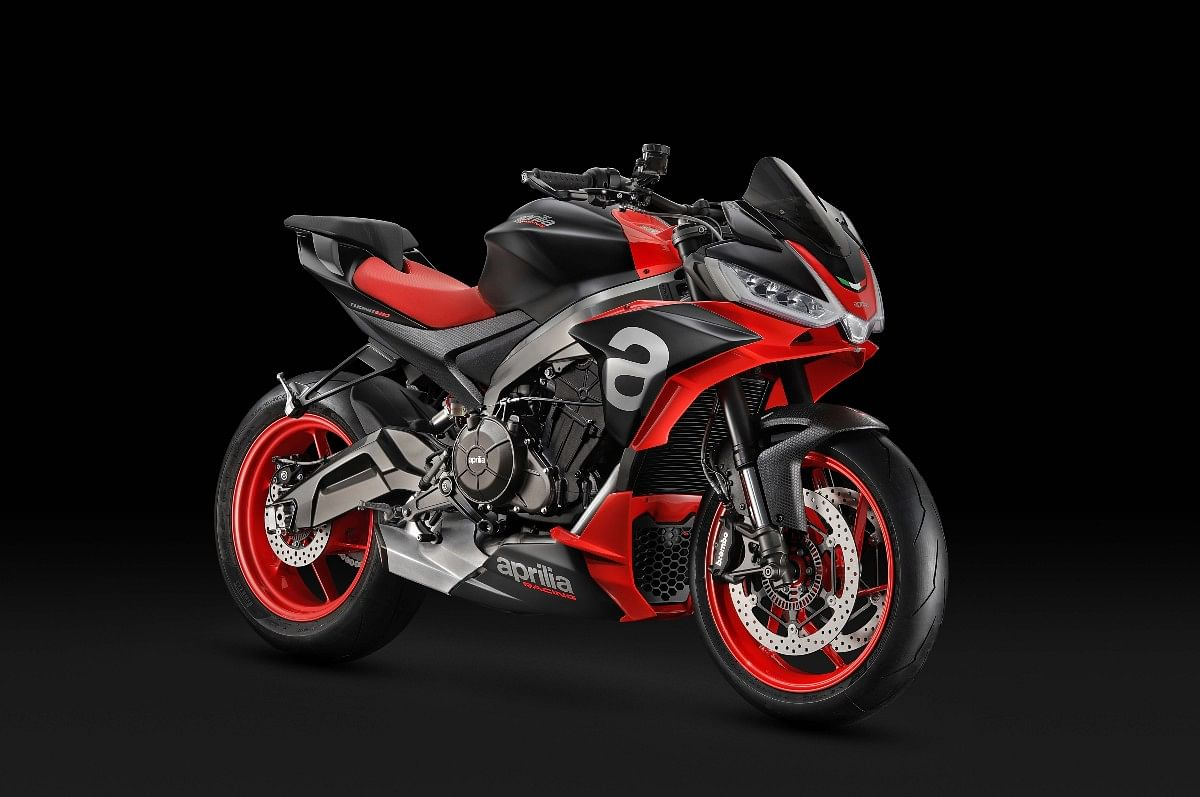 The Tuono 660 is the entry point to the Aprilia superbike lineup in India priced at Rs 13.09 lakh (ex-showroom)