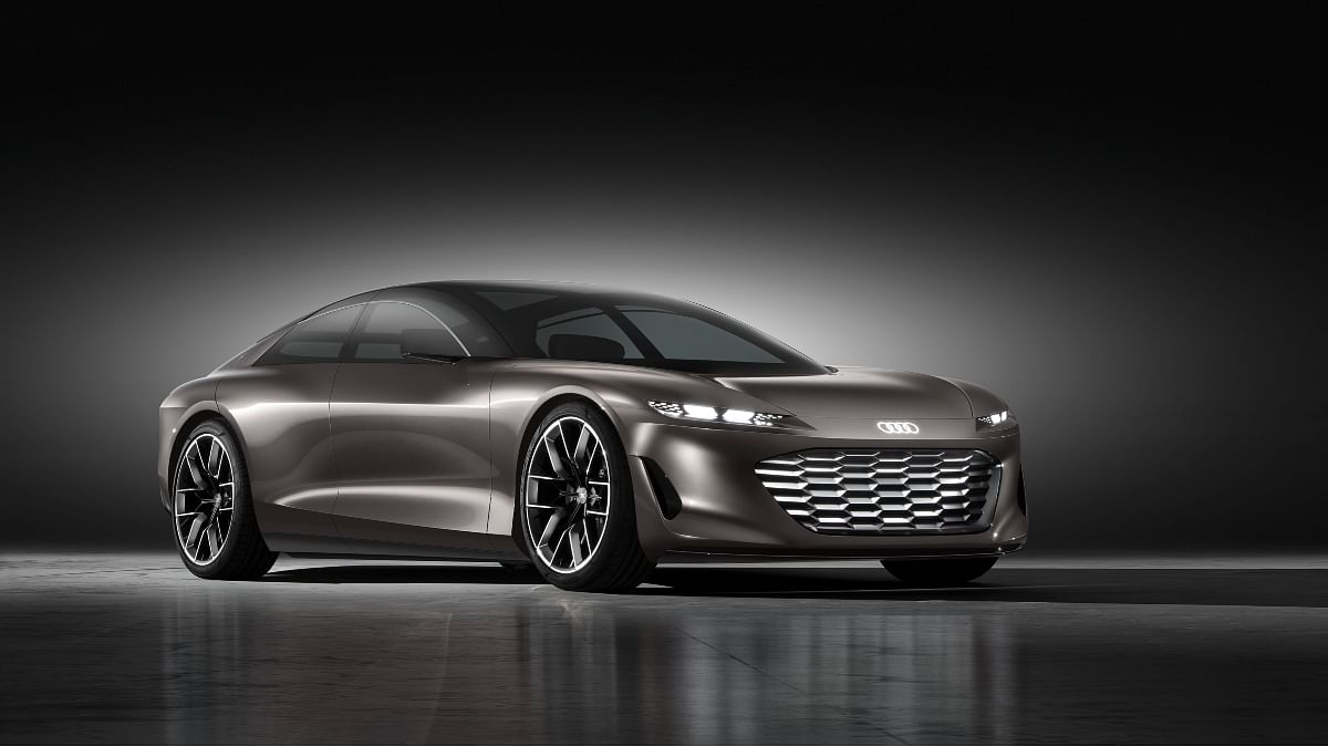 The Audi Grandsphere concept produces a total output of 710bhp and 960Nm
