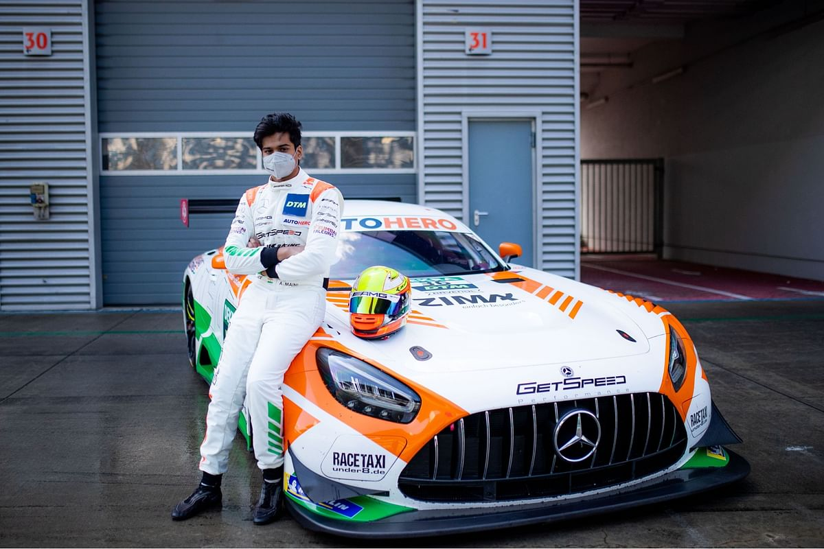 Arjun Maini finishes sixth at the 2021 DTM Red Bull Ring