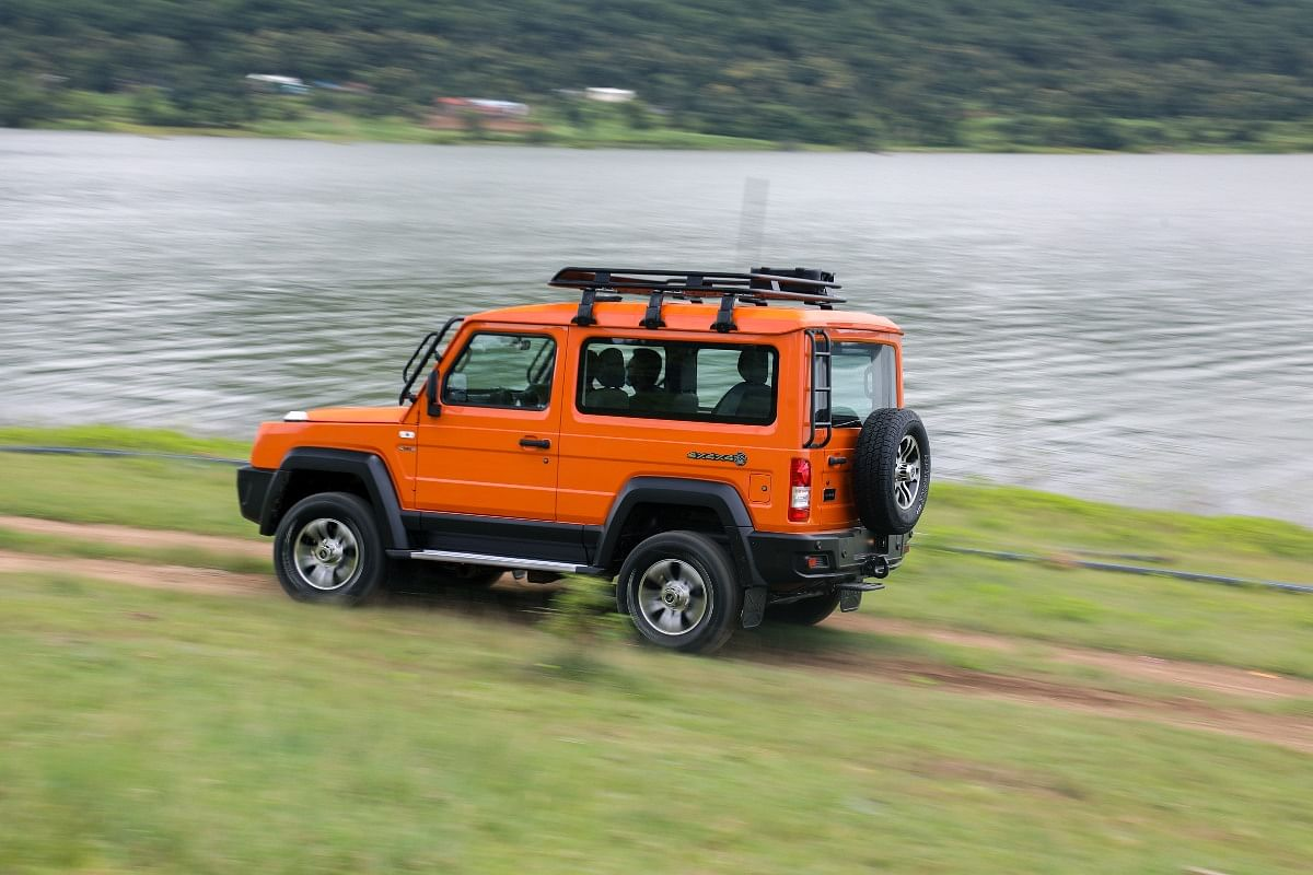 Force Motors says the 2021 Gurkha is inspired by the Mercedes-Benz G-Wagen