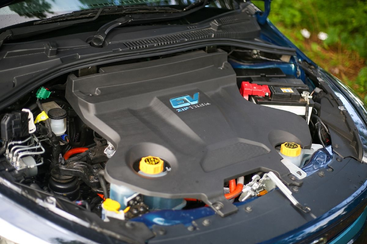 The electric motor on the Tigor EV produces 73bhp of peak power and 170Nm of peak torque