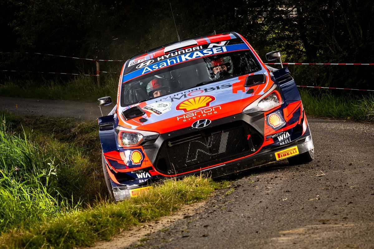 Thierry Neuville dropped six minutes with a power steering issue.
