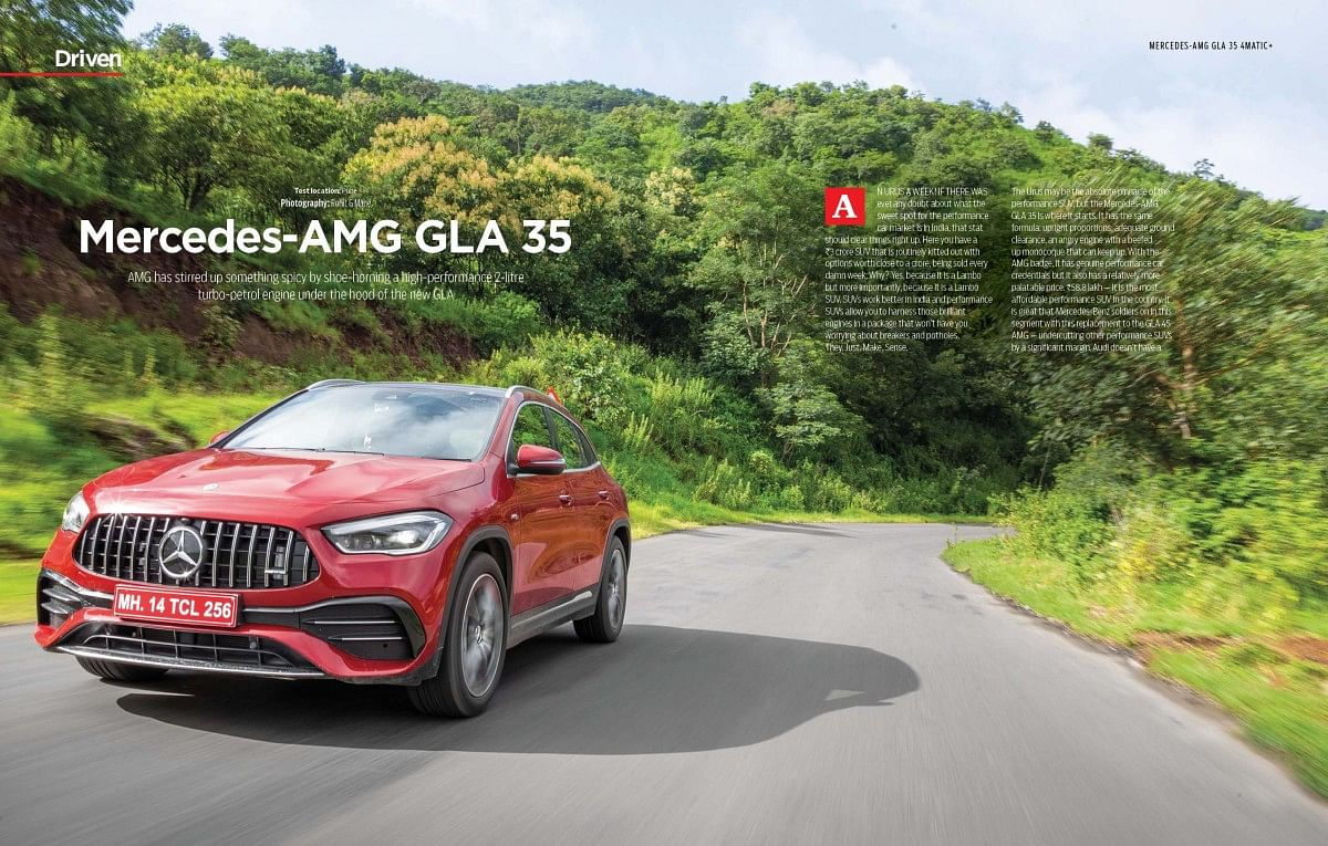 Mercedes-AMG's smallest performance SUV is now locally assembled