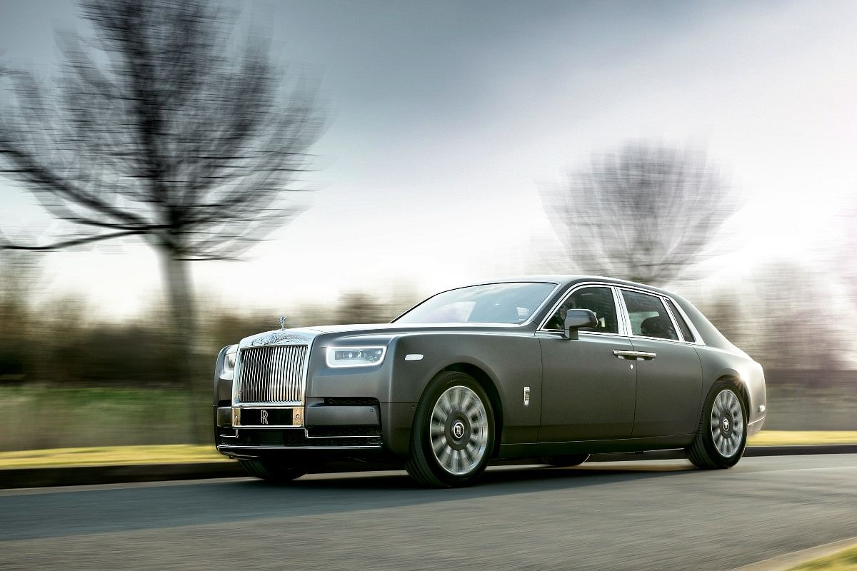 The Phantom is the first image coming to mind when one thinks of Rolls-Royce