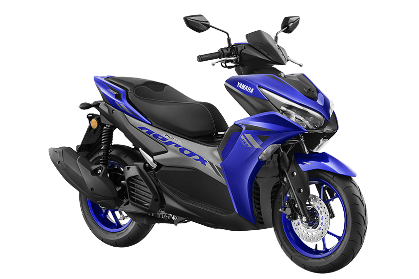 Yamaha Aerox in Racing Blue