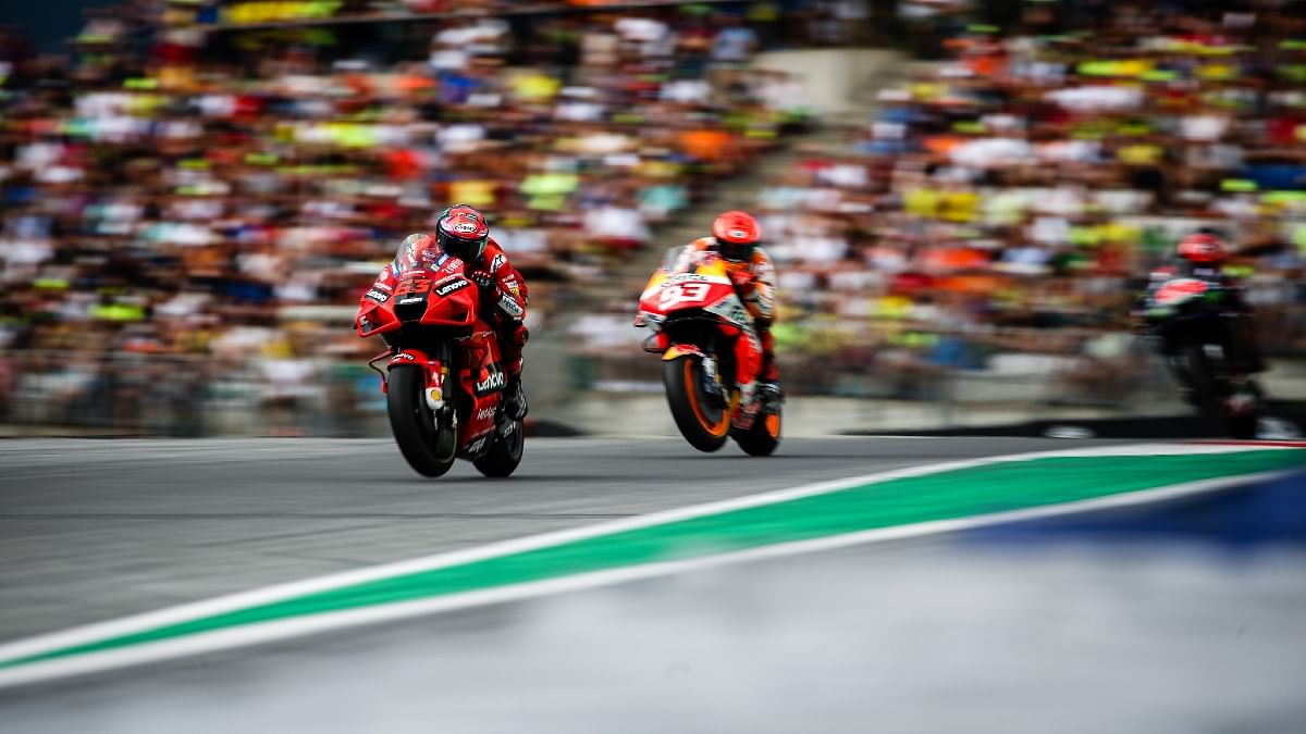A knife fight with Marc Marquez for the victory would have made Bagnaia's first MotoGP win even sweeter