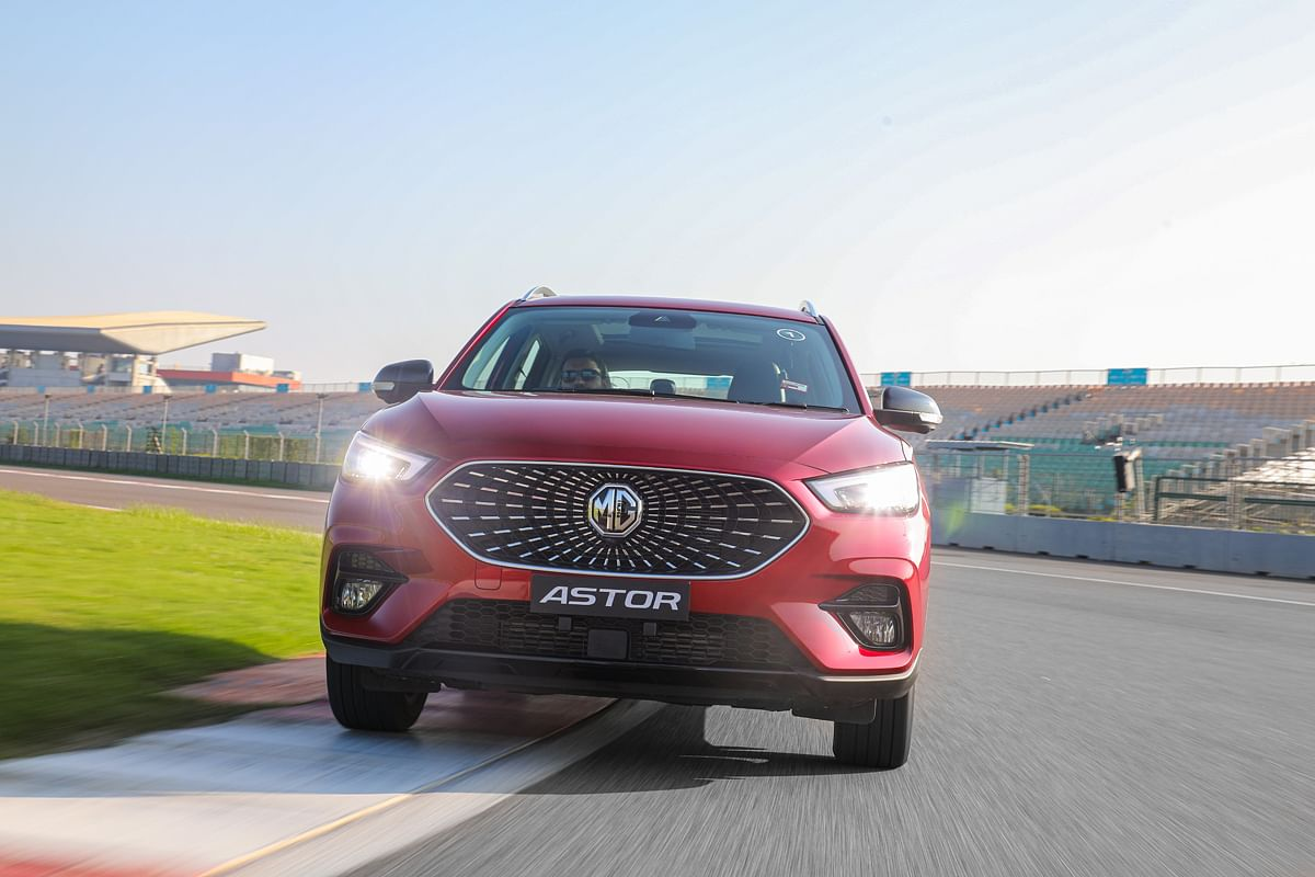 The grille design is exclusive to India