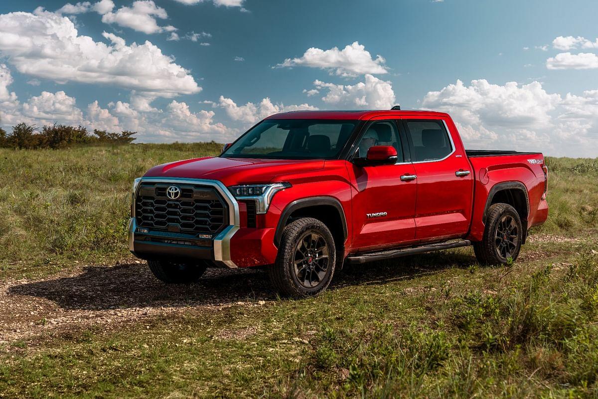 2022 Toyota Tundra pickup truck unveiled