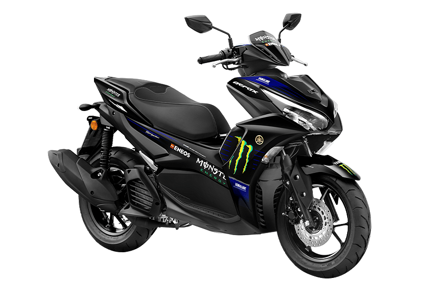 Special livery called the Monster Energy Yamaha MotoGP Edition