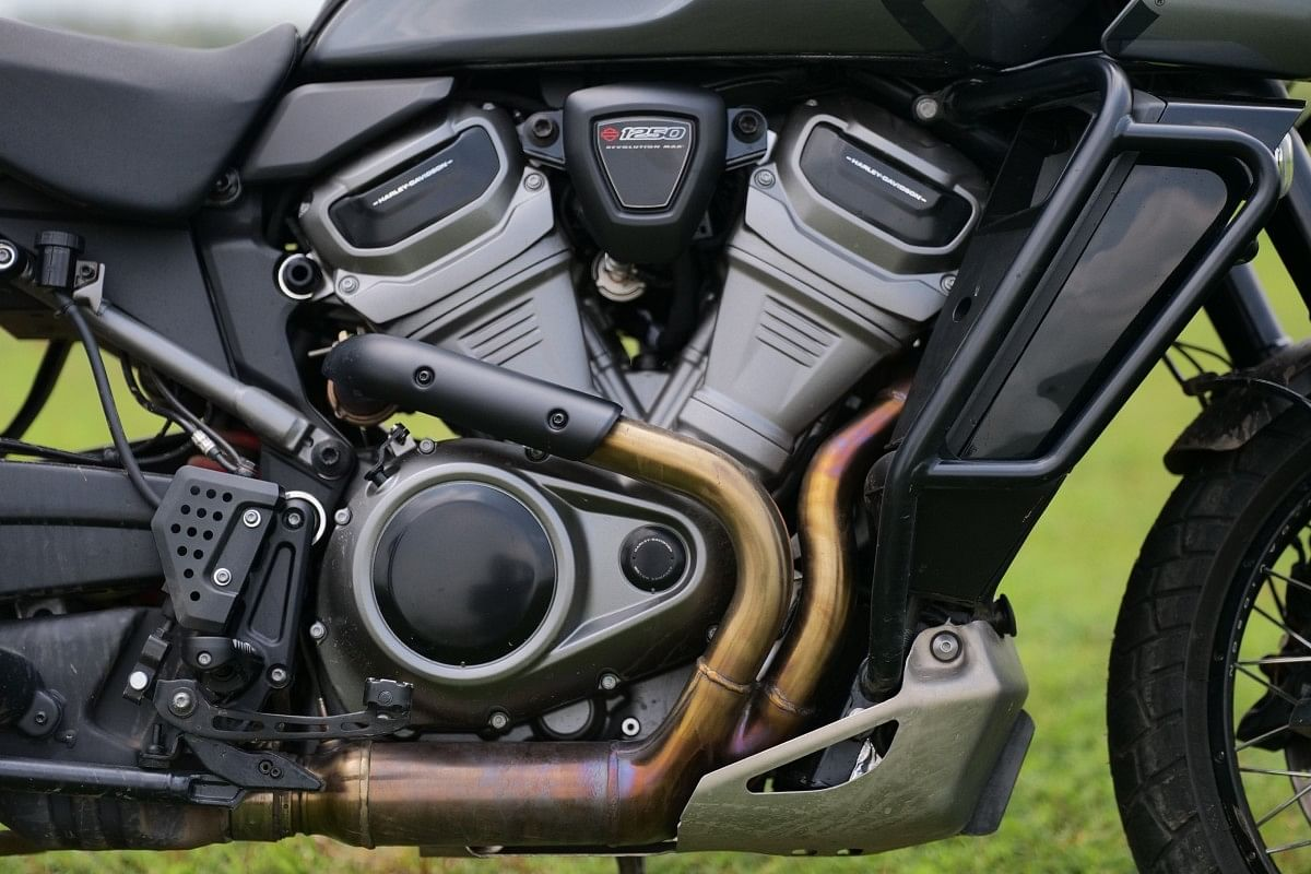 Revolution Max V-twin in the Pan America good for 150bhp