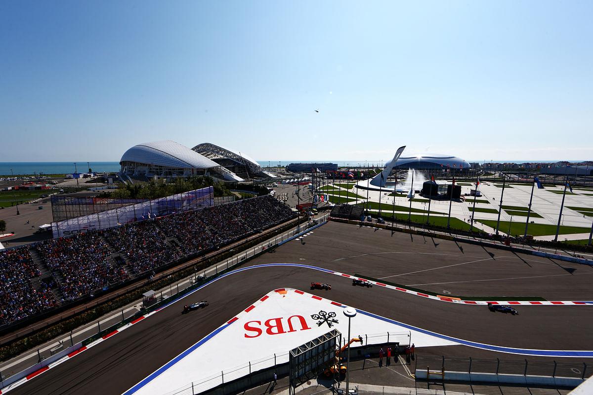 Formula 1 also brings Formula 2 and Formula 3 at the weekend in Sochi