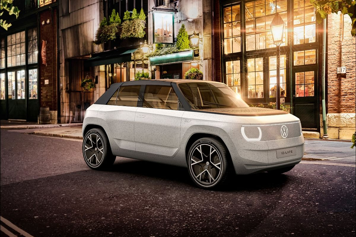 Volkswagen ID. Life concept unveiled, previews VW's budget electric car