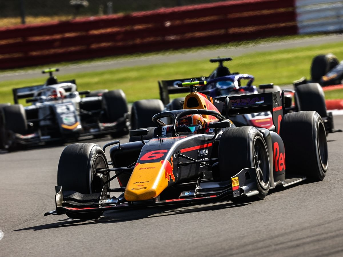 Jehan Daruvala finishes P5 in the F2 Monza Feature Race