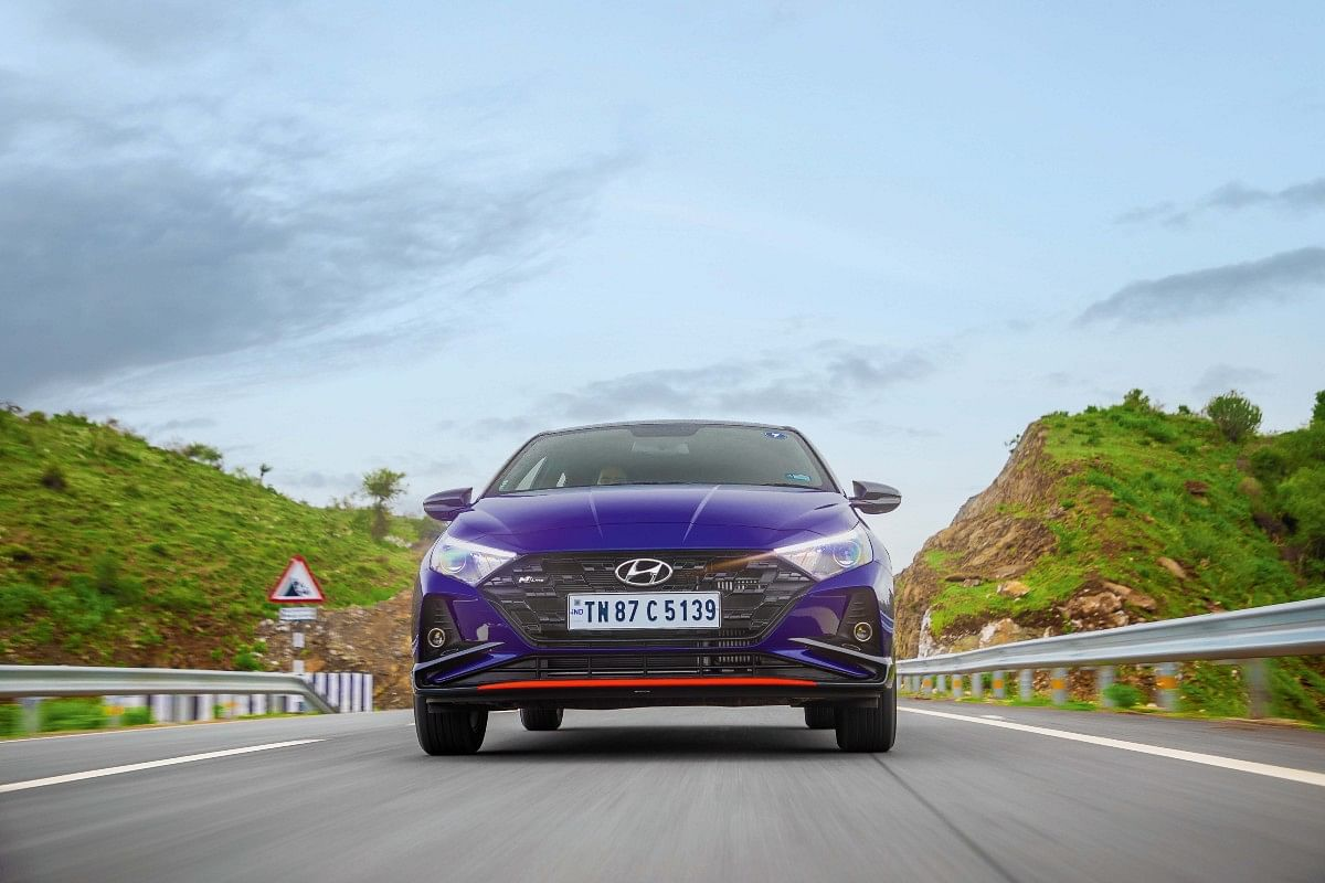 The i20 N Line's design carries a sportier edge over the regular version