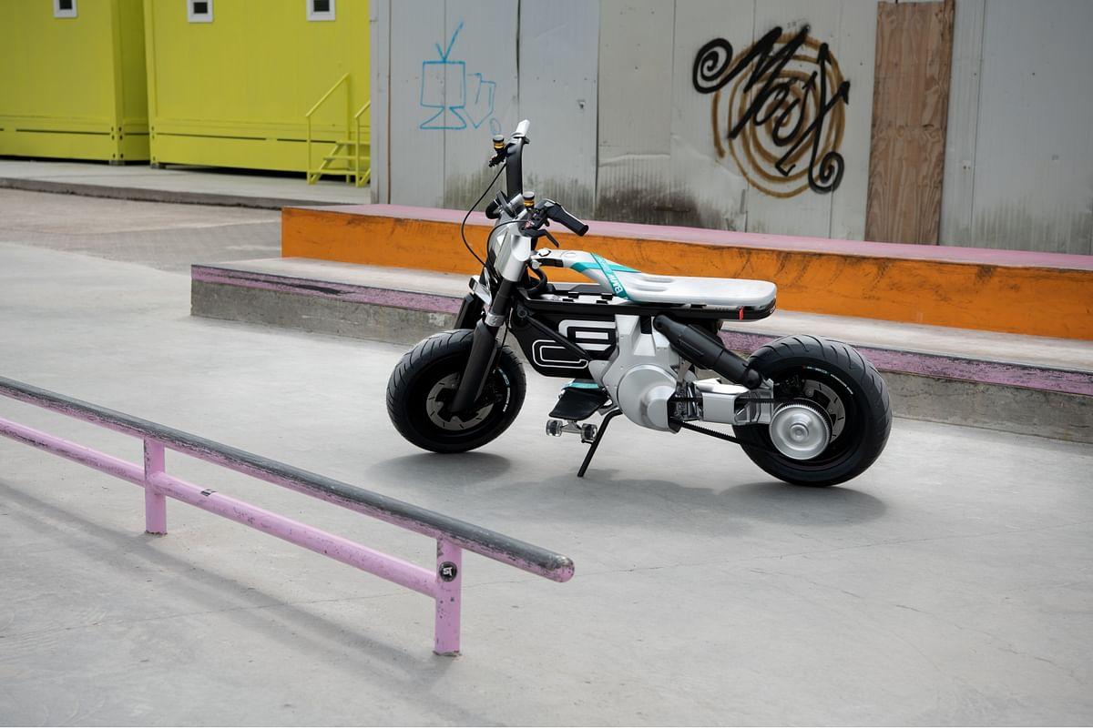 BMW Motorrad CE 02 concept unveiled