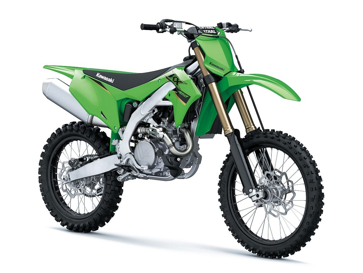 Subtle differences to tell the KX450 apart from the KX250