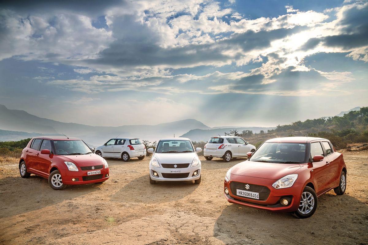 Maruti Suzuki Swift crosses 25 lakh sales mark in India