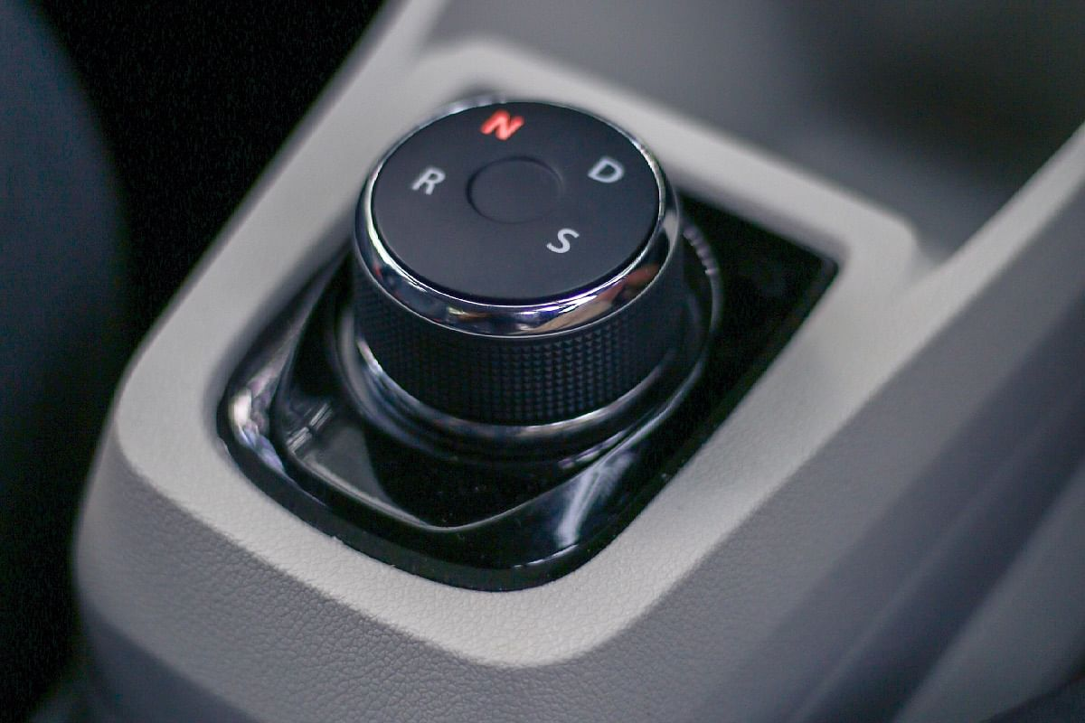 Looks familiar? The rotary gear selector is also seen on the Nexon EV