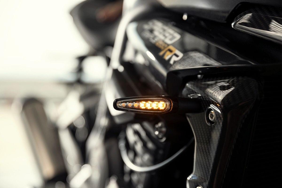 The Triumph Speed Triple 1200 RR gets LED indicators