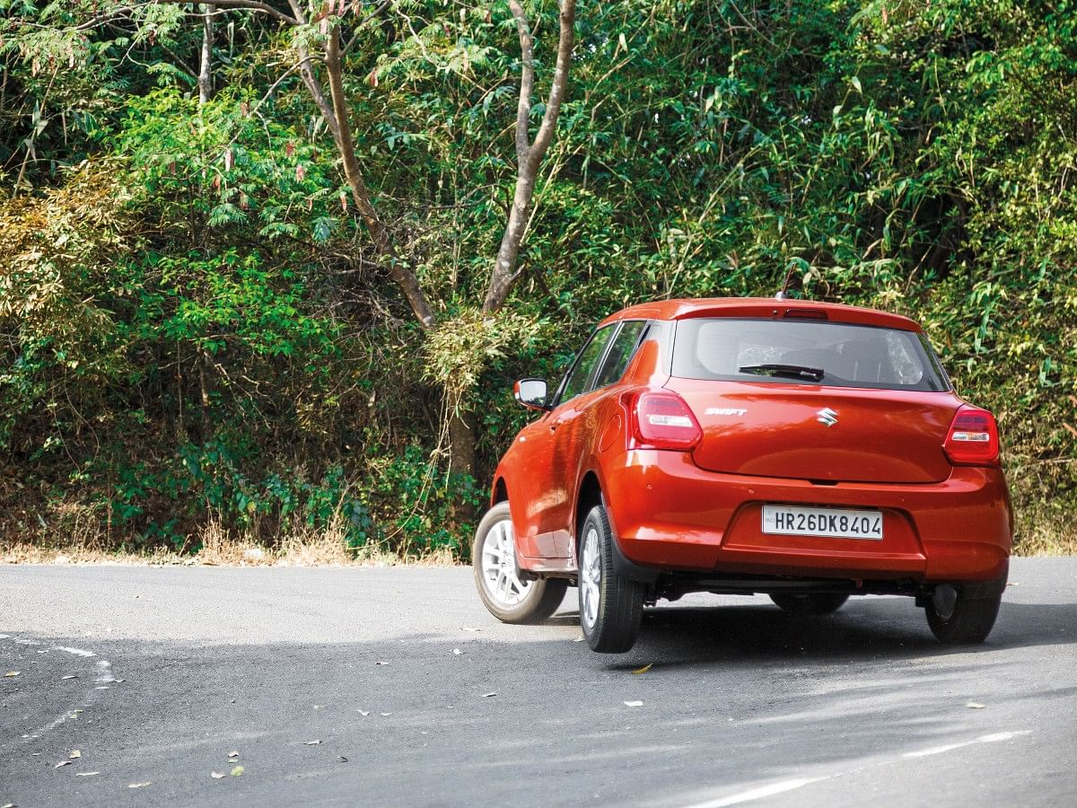 The compact size of the Swift, plus a peppy engine and tight chassis is a fun combination