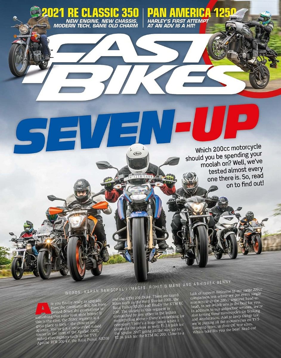 We've brought together every 200cc motorcycle on the market for a thorough test