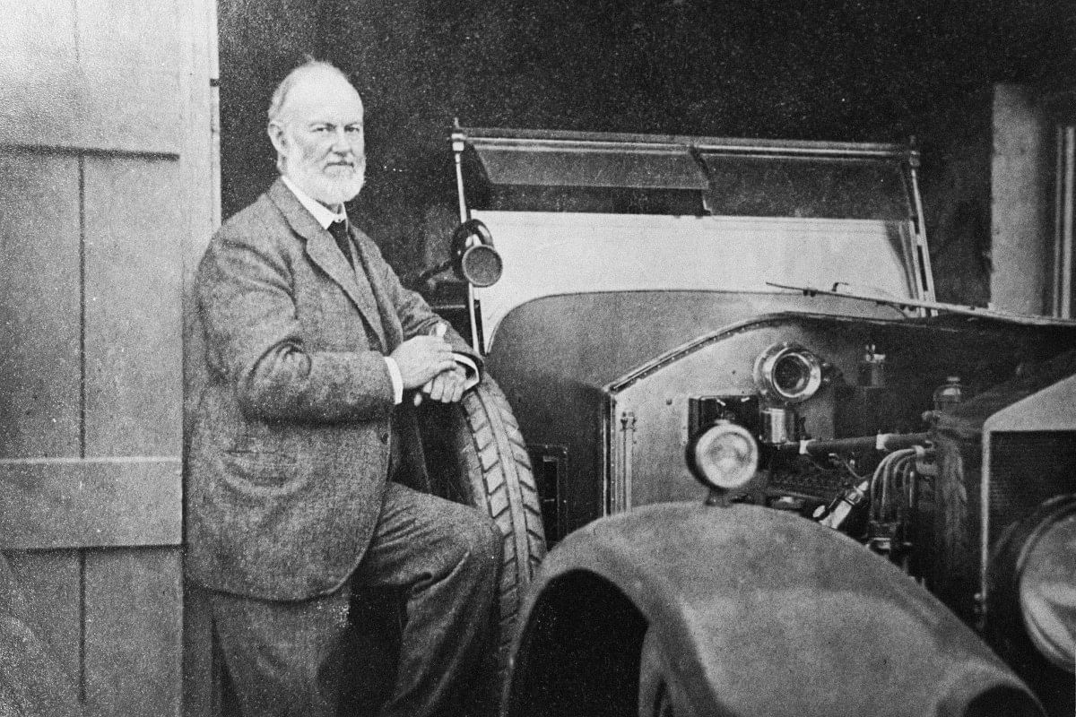 Henry Royce, one of the Rolls-Royce founders was keen on electric power