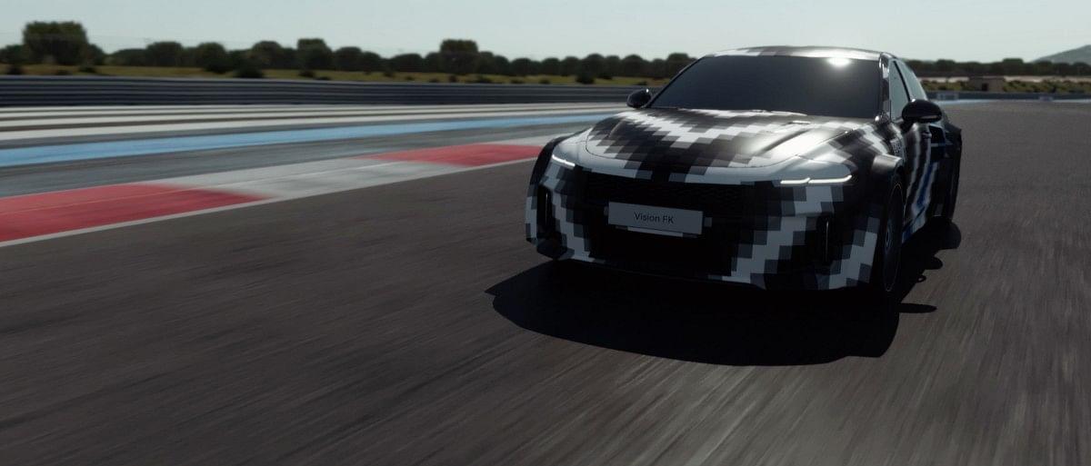 Vision FK, the high-performance hydrogen sports car