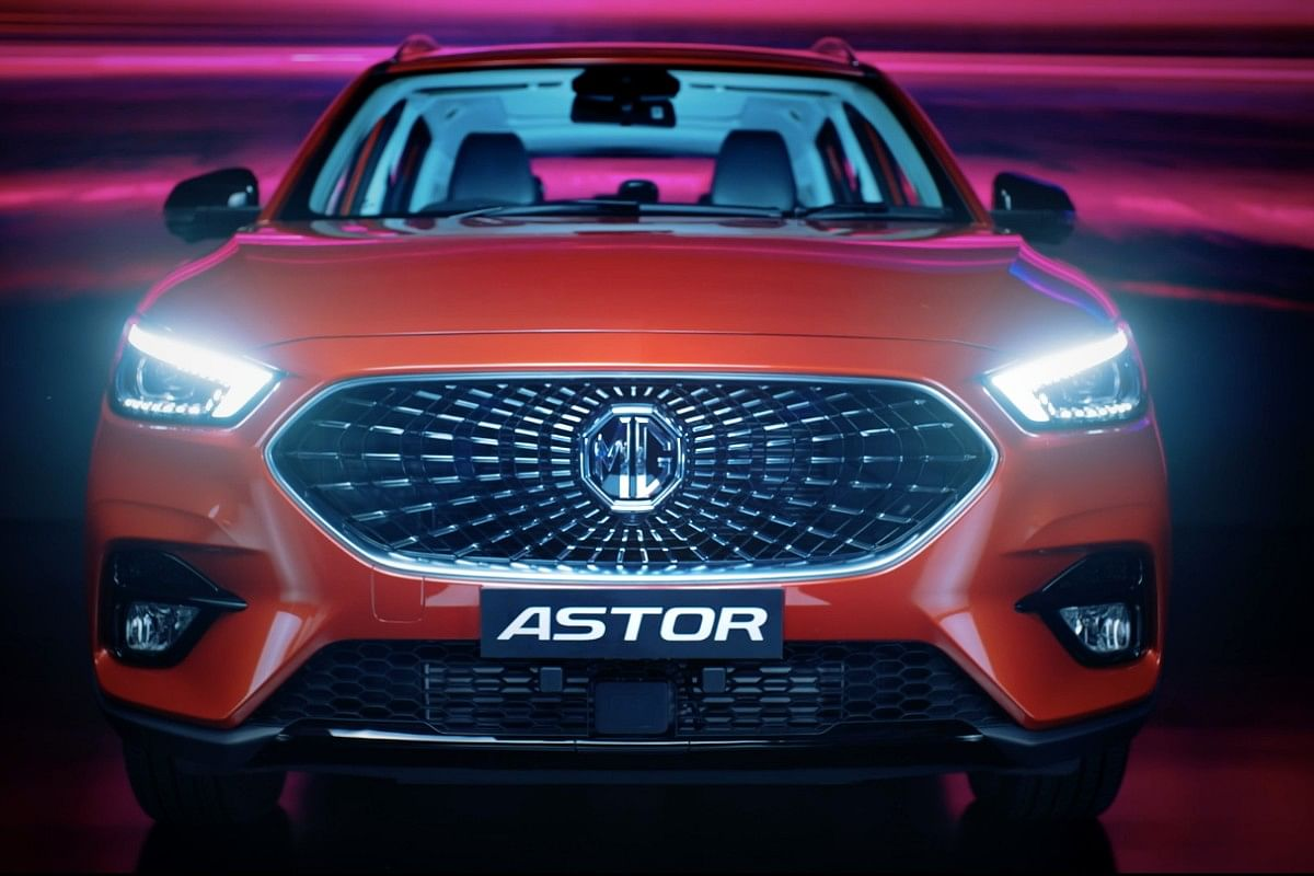 The Astor sports a signature celestial grille upfront