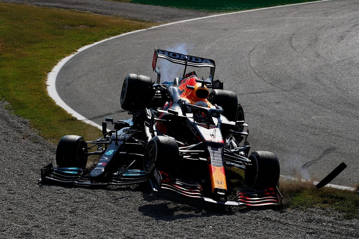 If not for the Halo safety device, Lewis Hamilton would have been injured really bad as Verstappen's back wheel scraped off his helmet