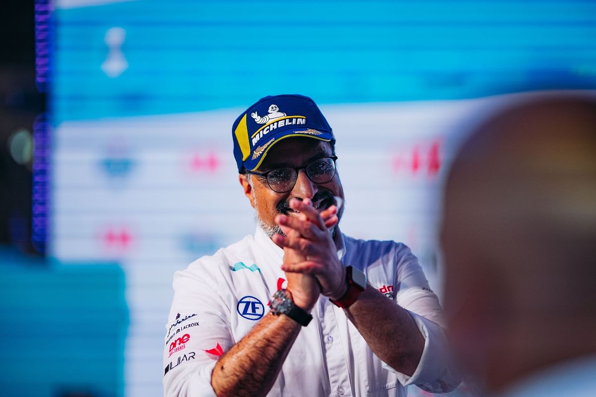CEO Dilbagh Gill has strong aspirations for the 2022 Formula E season